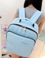 Lovers backpack color block laptop bag backpack school bag handbag laptop bags
