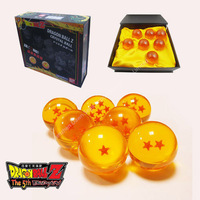 Collector's Edition 7x Japan Anime Dragon Ball DragonBall Z Stars small Crystal 3 cm Ball Set BN 7pcs/set