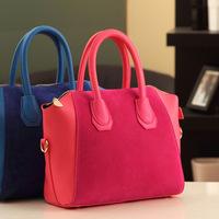 Fashion hot-selling 2014 british style scrub women's handbag messenger bag multifunctional bags