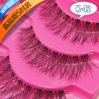New ! K-42 Japan beneficial if the wing cross- section of eye longer selling handmade false eyelashes wholesale