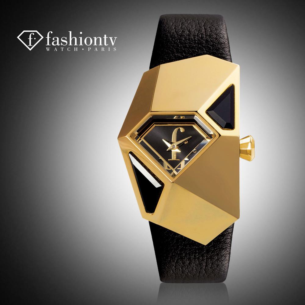 Fashiontv regarder. paris, la tendance de la mode montre montre de marque femelle, diamant dames robe des femmes montre à quartz montre la livraison gratuite
