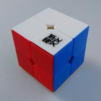 ^_^ Free Shipping! MoYu Lingpo 2x2 Magic Cube Puzzle Cube MoYu 2x2 Lingpo 2x2 Stickerless