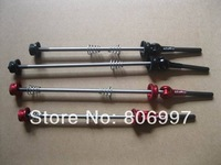 Super light Ti skewers,one pair Carbon Titanium skewers,road bicycle quick release
