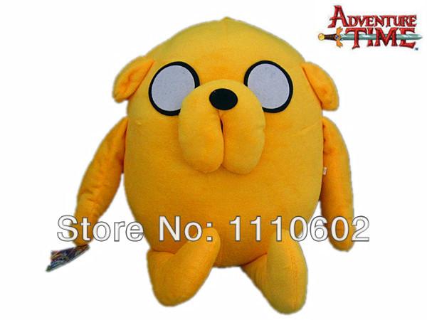 20'' Adventure Time Dog Jake Character 50cm Large Size Stuffed Animal Doll Plush Toy Dropshipping(China (Mainland))