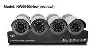 New 4CH NVR + 4x 1.0 Megapixel 720P HD IP Camera Web Cam Night Vision Kit H.264 CCTV Home Surveillance System IOS Andriod APP