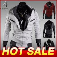 Hot sale Sports Hooded Jacket Casual Fleece thickening Winter Jackets hoody sportswear Men's Clothing Hoodies Sweatshirts X205