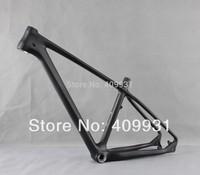 2014 650b 27.5er mtb carbon frame UD-matt size 19/21mtb carbon bike frame BB92 mountain bike frame Free Shipping