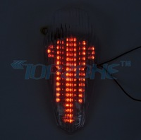 SMOKED Lens LED Motorcycle Brake Light Tail Light For HONDA SHADOW AERO750 04-07