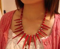 National accessories tibetan jewelry 15 needle necklace c-046