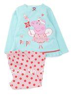 2014 Hot seller! Quality Guaranteed Peppa Pig polka Kids Pajamas, 100% cotton Retail 3~7years, 3 colors