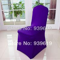 Free shipping purple chair cover/spandex chair cover/banquet chair cover for banquet
