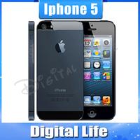 Original Apple iPhone 5 16GB/32GB storage GPS WIFI Dure Core 4.0 Screen mobile Phone