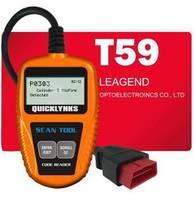 T59 Car Fault Code Reader Scanner Diagnostic Tool OBD 2 CAN OBD1 OBD2 OBDII