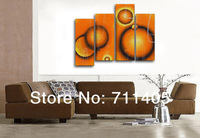 3 Size Free Shipping 100% Hand painted abstract 4pcs group oil painting High Quality Wall Art on Canvas wholesale/ A-093