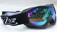 Rayzor Free Shipping Double Lens Polarized Anti Fog Windproof Ski Goggles UV400 Protection Snowing Glasses Ventilation holes