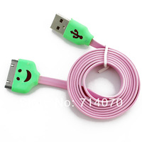 Colorful smiling Shape Data/Charge Cable