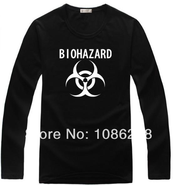 Wholesale Biohazard of Resident Evil family t shirt DIY custom deisgn logo shirts 100%Cotton Men Women Kid's size t shirt tees(China (Mainland))