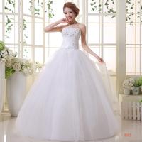 On sale Bride tube top slim wedding bandage lacing dress formal dress lyg slim princess wedding dresses bridal wedding dress