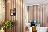 10 meters Modern Minimalist Country Luxury Stripe Wallpapers For Living room Bedroom TV Backdrop Wall White Beige Grey