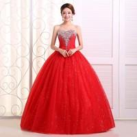 On sale The bride wedding dress formal bandage lacing wedding dresses red wmz formal dress lace up red wedding dress bridal wear