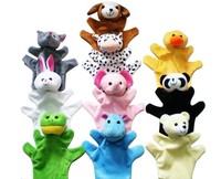 Cute Big Size Animal Glove Puppet Hand Dolls Plush Toy Baby Child Zoo Farm Animal Hand Glove Puppet Finger Sack Plush Toy