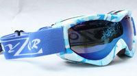 Rayzor  Double Lens Polarized AntiFog Windproof Ski Goggles UV400 Protection Snowing Glasses Ventilation holes colorful blue