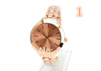 2014 Brand Name Stainless Steel Runaway Midsized Quartz Women's Dress watch M Watch Quartz  K Wrist Watches 4 Color Available