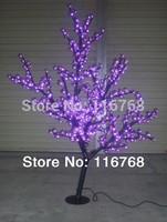 2PCS/CARTON-110V/240V 160CM 576PCS LED Twig Artificial Flower Lamp LED Cherry Tree Lights
