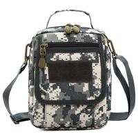 Tactical backpack outdoor shoulder messenger bag combination disassembly Camouflage multi-purpose vertical man bag