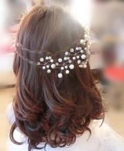 The bride pearl beads beaded wedding accessories marriage wedding accessories style hair accessory
