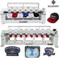 Tajima type 2-4-6-8 head 9-12-15 needle Computer  Embroidery machine