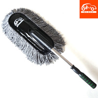 Car auto supplies cleaning duster wax drag car wash brush car mop car brush