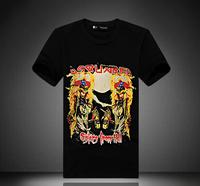dsq T shirt Brand men black  wholesale brand men's t-shirts print cotton top tee shirts summer fashion t shirt for men BLWHSA xl