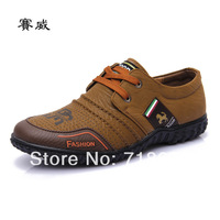 2014 new men, microfiber leather, brand, British style, business casual shoes, men leather shoes, free shipping