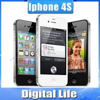 Original Apple iPhone 4S GPS WIFI  16GB/32GB storage 3.5 Screen Dual Core mobile Phone