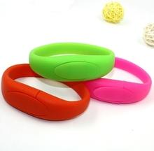 wholesale silicone usb bracelet