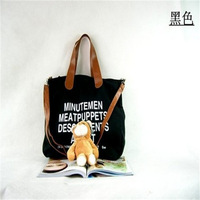 Free Shipping!!!Women's handbag ultralarge letter multi-purpose canvas bag one shoulder handbag messenger bag