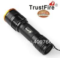 3PCS/LOT Trustfire Z3 Flashlight 7 Mode 1000 Lumens CREE XM-L T6 LED Zoomable Waterproof Camping Hiking Flashlight  By 1* 18650