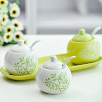 Jingdezhen ceramic supplies set spice jar