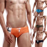 Mens Cross Pattern Printed Underwear Swim Briefs Swimwear Boxers Trunks 4Colors free&drop shipping
