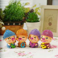 Rustic resin doll wedding gifts home decoration crafts
