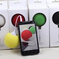 Free Shipping! Mobile Phone Speake, Computer Mini Speakers, Balloon Portable Small Speakers Creative Gift Sound Loudspeaker