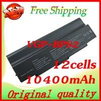 10400mAh Laptop battery for Sony VGP-BPS2 VGP-BPS2A VGP-BPS2B VGP-BPS2C VGP-BPL2 VGP-BPL2C VGC-LB50 VGC-LB91S