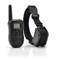 Free shipping + tracking number  LCD 100LV Level Electric SHOCK&VIBRA REMOTE PET DOG SAFE TRAINING COLLAR