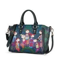 2014 New Fashion Style Pu Leather Original Designer Handbag Shoulder Bag For Women Motorcycle Messenger Bags
