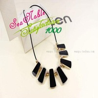 New 2014 Alloy Handmade Black Chain Necklace Chokers Fashion Jewelry S295