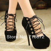 2014 new, women, 14.5 cm high heels, sexy, European style, model, nightclub work shoes,  Pumps    free shipping