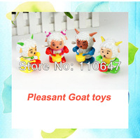 Pleasant Goat Wind Up Clockwork Baby Toy Lovely Cartoon Sheep beating the drum For 1-5 years old Kids Free Shipping