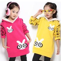 Spring children's clothing 2014 female child spring child sweatshirt outerwear 4-6 - 7 - 8-9-10