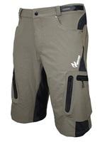 Dropship 2014 outdoor sports Mountain Bike Bicycle Cycling Shorts MTB downhill Motorcycle baggy shorts, bike bermuda for men